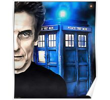 Doctor Who - Portrait of 12th Poster