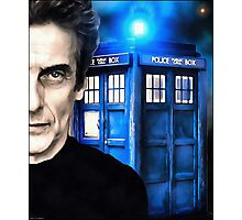 Doctor Who - Portrait of 12th Photographic Print