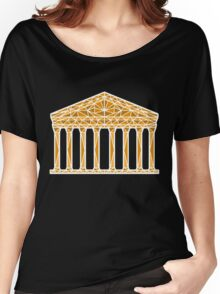 Geometric Pantheon in colour with white outline Women's Relaxed Fit T-Shirt
