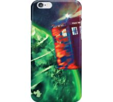 Tardis Crashing iPhone Case/Skin