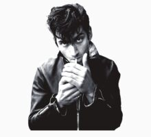Alex Turner | Arctic Monkeys | Smoking a Cigarette  by xtinaa