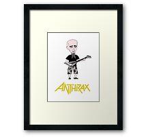 Antrhax Framed Print
