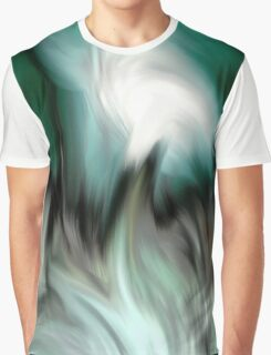 abstract green by rafi talby Graphic T-Shirt