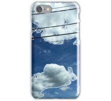 Blue Clouds iPhone Case/Skin