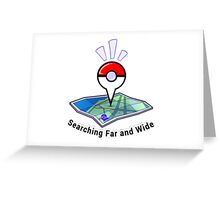 Pokemon go Greeting Card