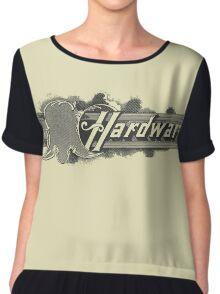 Hardware Chiffon Top