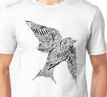 Stripes and Swallow Unisex T-Shirt