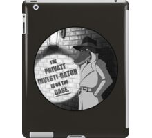 Private Investi-Gator iPad Case/Skin