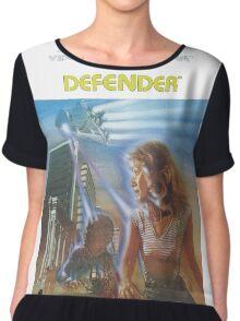 Atari Defender  Chiffon Top