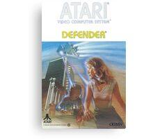 Atari Defender  Canvas Print