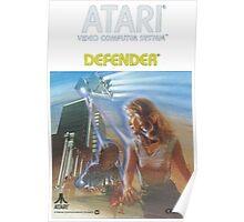 Atari Defender  Poster