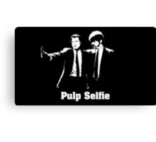 Pulp Selfie Canvas Print