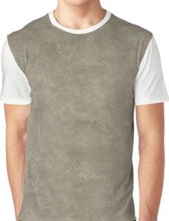 Desert Taupe Oil Pastel Color Accent Graphic T-Shirt