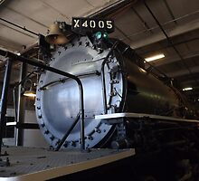 Vintage Locomotive, Denver, Colorado by lenspiro