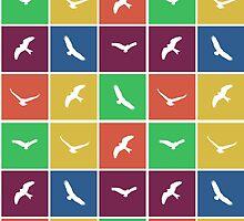 multi color birds by Sajeev Chandrasekhara Pillai