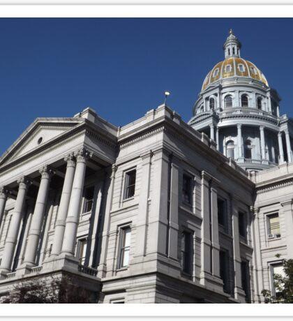 Classic Architecture, State Capitol, Denver, Colorado Sticker