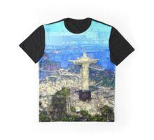 Cristo in Rio de Janeiro Brazil Graphic T-Shirt