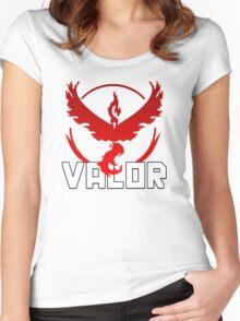 Pokemon Go | Team Valor Women's Fitted Scoop T-Shirt