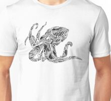 Stripes and Octopus Unisex T-Shirt