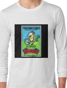 Loteria Apes #1: El Gallo Long Sleeve T-Shirt