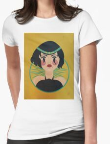 Flapper Tears Womens Fitted T-Shirt