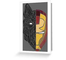 Game Of Thrones / Iron Man: Stark Family Greeting Card