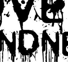 Love Is Blindness U2 Jack White Song Lyrics Sticker