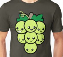 Fruit of the Vine:  Green Grapes Unisex T-Shirt