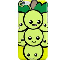 Fruit of the Vine:  Green Grapes iPhone Case/Skin