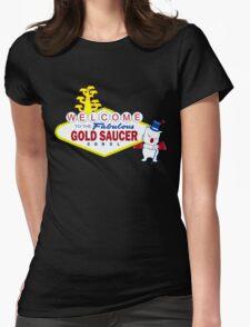 Fabulous Gold Saucer Alternate Womens Fitted T-Shirt