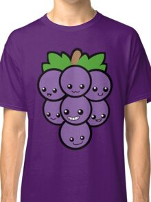 Fruit of the Vine: Purple Grapes Classic T-Shirt