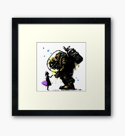 I'll Always Protect You Framed Print