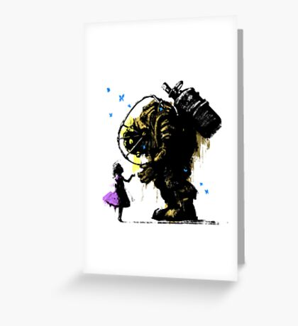 I'll Always Protect You Greeting Card