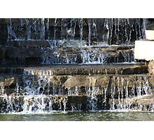 It's a Water Stream  Photographic Print