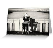 Anywhere Poet - Playa del Rey, California Greeting Card