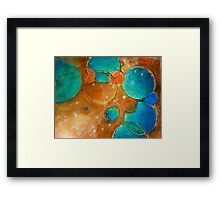 Welcome to my World - Painting Deb Breton Framed Print