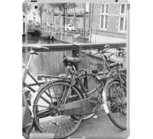 Bicycles Amsterdam iPad Case/Skin