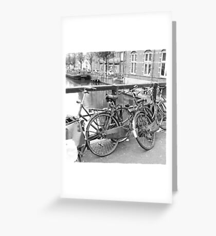 Bicycles Amsterdam Greeting Card