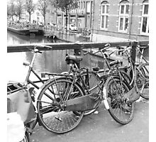Bicycles Amsterdam Photographic Print
