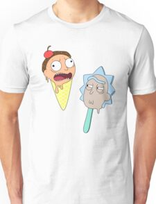 Ice cream Rick and Morty Unisex T-Shirt