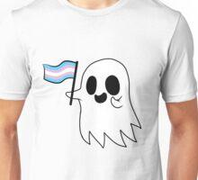 Trans Pride Ghost Unisex T-Shirt
