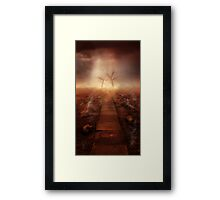 The Path Ot The Dead Framed Print