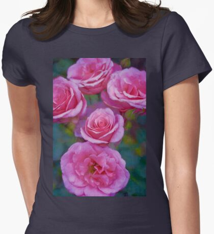 Rose 344 Womens Fitted T-Shirt