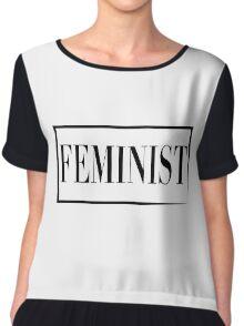 Feminist  Chiffon Top