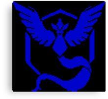Pixel Mystic 8-bit Blue Canvas Print