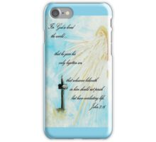 For God so Loved the World iPhone Case/Skin