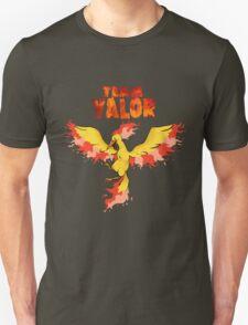 Team Valor: Pokemon Go! Unisex T-Shirt