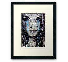 blue azalea Framed Print