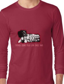 Costanza the fathers of communism Long Sleeve T-Shirt