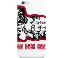 Costanza the fathers of communism iPhone Case/Skin